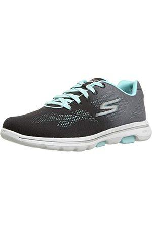 Skechers Damen GO Walk 5 - Alive Sneaker, /Aqua