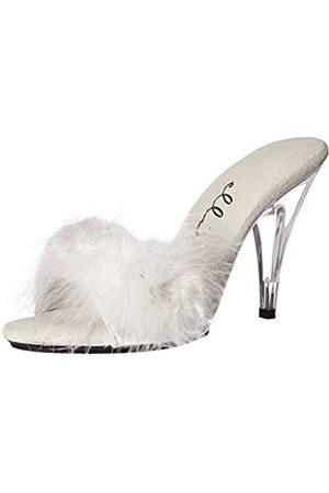 Ellie Shoes Damen 405-sasha Plateau-Sandalen, Weiá
