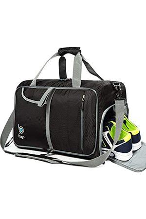 Bago Turnbeutel für Damen und Herren – klein verstaubare Sporttasche für Damen mit Schuhfach und Nassfach (40 Liter)