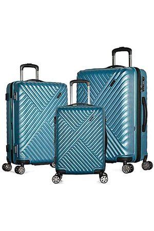 Olympia Luggage Matrix 3-teiliges Hartschalen-Spinner-Set mit verstecktem Fach