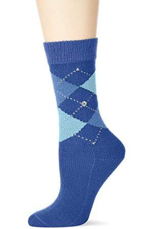Burlington Damen Whitby Socken, (royal blue 6051)
