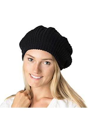 Accessory Necessary Herbst-Winter-Strickmütze für Damen, weiches Strickfutter
