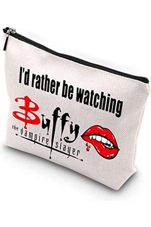 WCGXKO Make-up-Tasche mit Reißverschluss, Motiv: Vampir, für Mutter, Schwester, beste Freundin, Ehefrau