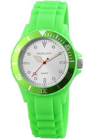 Excellanc Unisex Analog Quarz Uhr mit Kautschuk Armband 224922700001