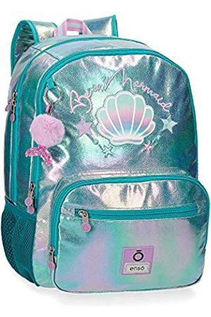 Enso Be a Mermaid Doppelfach-Rucksack An Trolley anpassbar 32x44x17 cms Polyester 23.94L