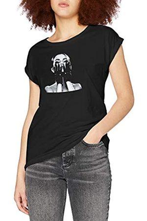 Merchcode Damen Ladies Selena Gomez Gloves Tee T-Shirt