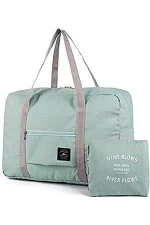 Bidiri Reisetasche, faltbar, Nylon, tragbar, wasserdicht, leicht, tragbar, für Reisen, Sport, faltbar, Reisetasche, Wochenender