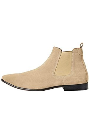 FIND Albany Suede Chelsea Boots, (Sand)