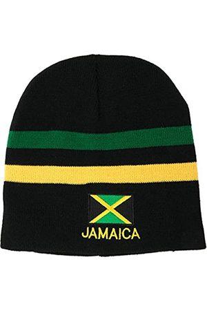 Armycrew Grüne, gelbe gestreifte Jamaika-Flagge und Text