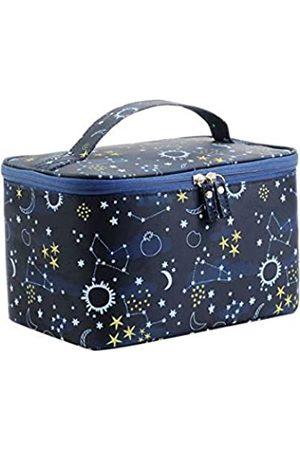 DDILKE Reise-Make-up-Tasche, tragbare Kosmetiktasche für Frauen und Mädchen, faltbar, multifunktional