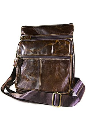 Urban Designer Handgefertigte Vintage-Retro-Handtasche aus echtem Leder