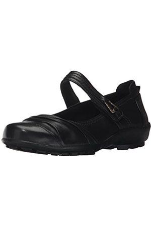 Walking Cradles Women's Hayden Loafer, Black Leather