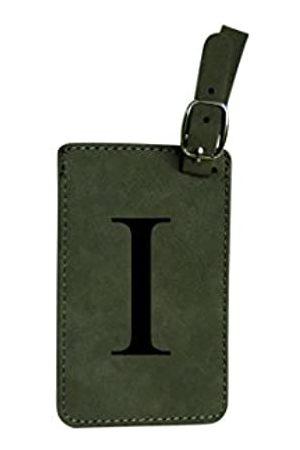 Aviation Nation Gepäckanhängernitial-Engineered Lederndividuelle Buchstaben, personalisierbar