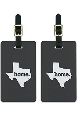 Graphics and More Graphics & More Texas Tx Home State Gepäckanhänger (grau) - LUGGAGE.TAGS.QQHSA.70043