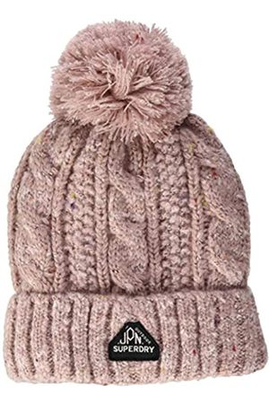 Superdry Womens Gracie Cable Beanie Hat
