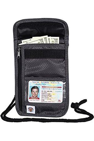 Banuce RFID Reisepasshülle Brieftasche Nylon Schutzhülle Pass Halter