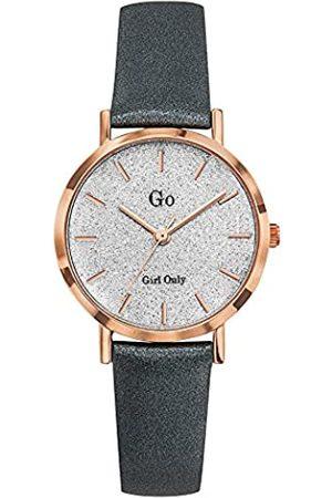 GO Girl Only Damen Analog Quarz Uhr mit Leder Armband 699902