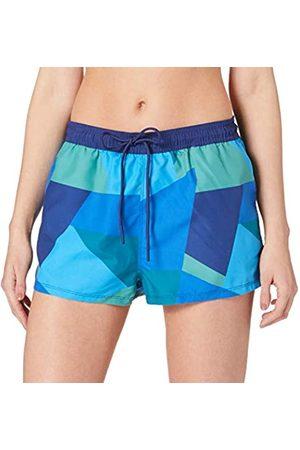 Sloggi Damen KOH Tachai Bandeau Bikini, Blue-Dark Combination
