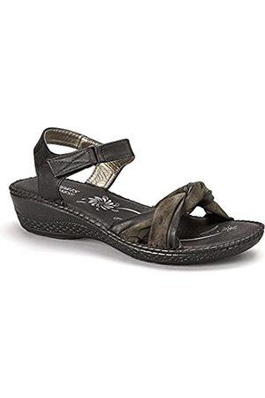 Madness Damen-Sandale mit offenem Zehenbereich, ( 5984)
