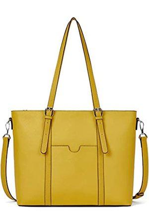 BOSTANTEN Damen-Handtasche aus Leder für Laptop, 15,6 Zoll (39