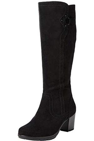 Jana 100% comfort Damen 8-8-25506-25 Kniehohe Stiefel, Black