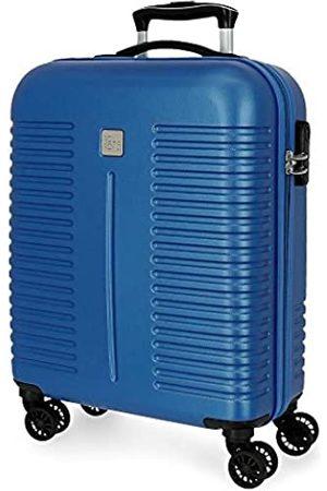 Roll Road India Kabinenkoffer 40x55x20 cms Hartschalen ABS Kombinationsschloss 37L 2