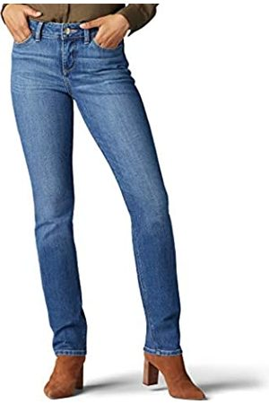 Lee Damen Secretly Shapes Regular Fit Straight Leg Jeans