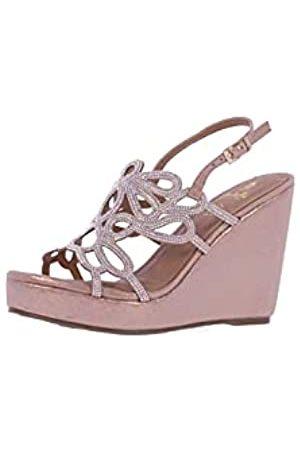 El Caballo Damen ZLV0752025038 Schuhe mit Absatz