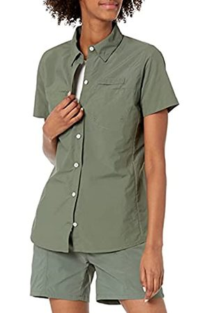 Amazon Short-Sleeve Classic Fit Outdoor with Chest Pockets Athletic-Shirts