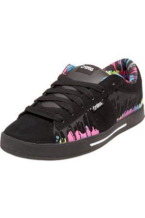 Osiris Women's Volley Skate Shoe,Black/Melted/Multi