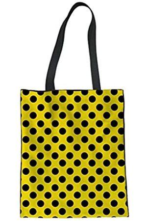 PinUp Angel Damen-Handtasche mit Punktemuster