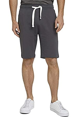 TOM TAILOR Herren 1026023 Sweatpants Bermuda Shorts, 10899-Tarmac Grey