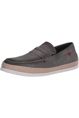 Marc Joseph New York Herren Leder-Schuhe mit Penny-Seil Detail Boot, ( (Nubuk))