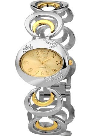 Excellanc Damen-Uhren mit Metallband 154014500010