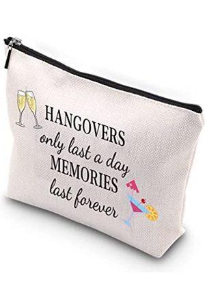 WCGXKO Hangover Gift Bachelorette Hangover Kit Bags Hangovers Only Last A Day Memories Last Forever