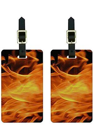 Graphics and More Graphics & More Burning Up-Flames Gepäckanhänger für Koffer