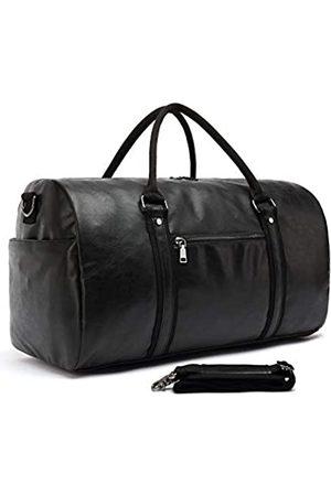 CALLPIONEER Damen Reisetaschen - Leder-Reisetasche mit Schuhbeutel, für Herren und Damen, Reisetasche für Wochenendausflüge, Gepäck, Handgepäck