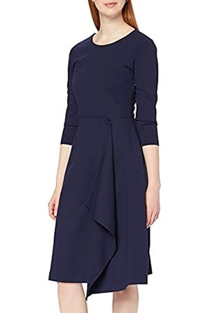 MERAKI Amazon-Marke: Damen Midi A-Linien-Kleid, 36