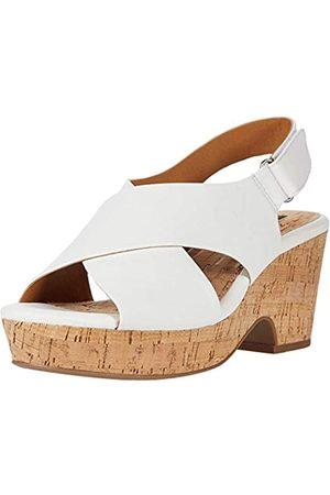 White Mountain Shoes Covington Damen Sandalen, Wei�