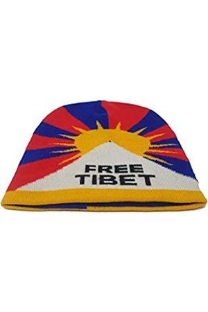 Free Tibet Buddha4all Strickmütze Trendy Warm Chunky Soft Stretch Zopfmuster Slouchy Beanie Mütze - - Einheitsgröße