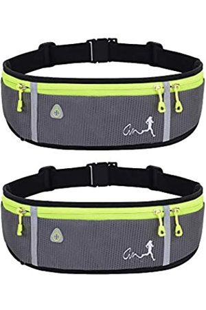 JAPI Laufgürtel, wasserabweisend, für Damen und Herren, Hüfttasche für Wandern, Fitness