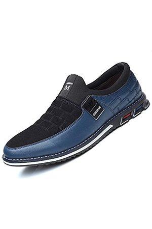 COSIDRAM Herren-Schuhe zum Reinschlüpfen, weiche Mikrofaser-Leder-Schuhe zum Autofahren und Spazierengehen, (A/ )