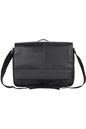 Kenneth Cole Risky Business Full-Grain Colombian Leather Crossbody Laptop & Tablet Flapover Messenger Bag