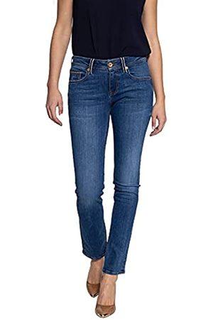 ATT Damen Straight Cut Jeans | 5 Pocket | Mit Details An Münztasche Stella
