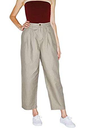 American Apparel Damen Twill Pleated Pant Freizeithosen