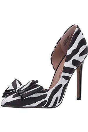 Betsey Johnson Damen Prince-p Pumps, Mehrere (Zebra)