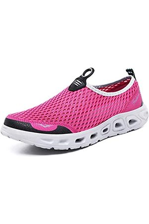 ZXWFOBEY Herren Schuhe - Men-Women LoaferFlats Breathable Mesh Shoes Sailing Up Beach Water Shoes Quick Drying Aqua Trainers Casual Shoes