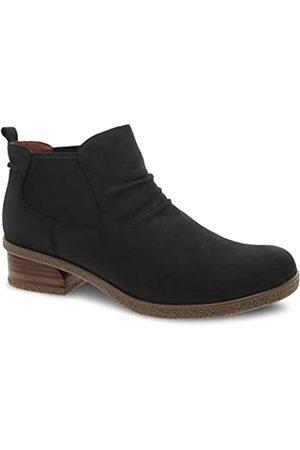Dansko Women's Waterproof Bea Black Ankle Boot 6.5-7 M US