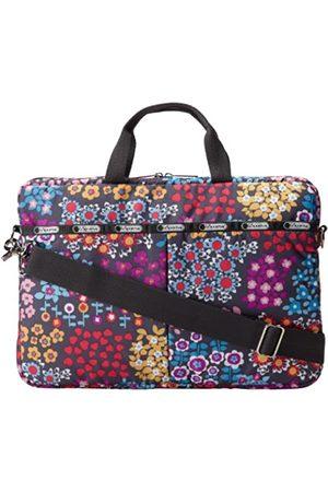 LeSportsac Damen Handtaschen - 15 Zoll Computer-Handtasche, (Zuckerblumenmuster)