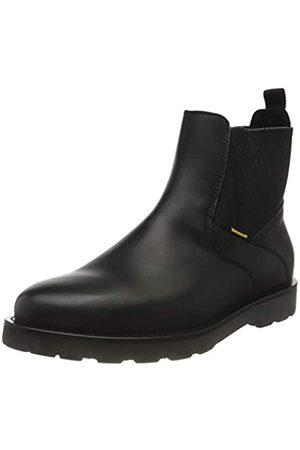 Camel Active Herren Chelsea Boots - Herren ROUTE Chelsea-Stiefel, Black
